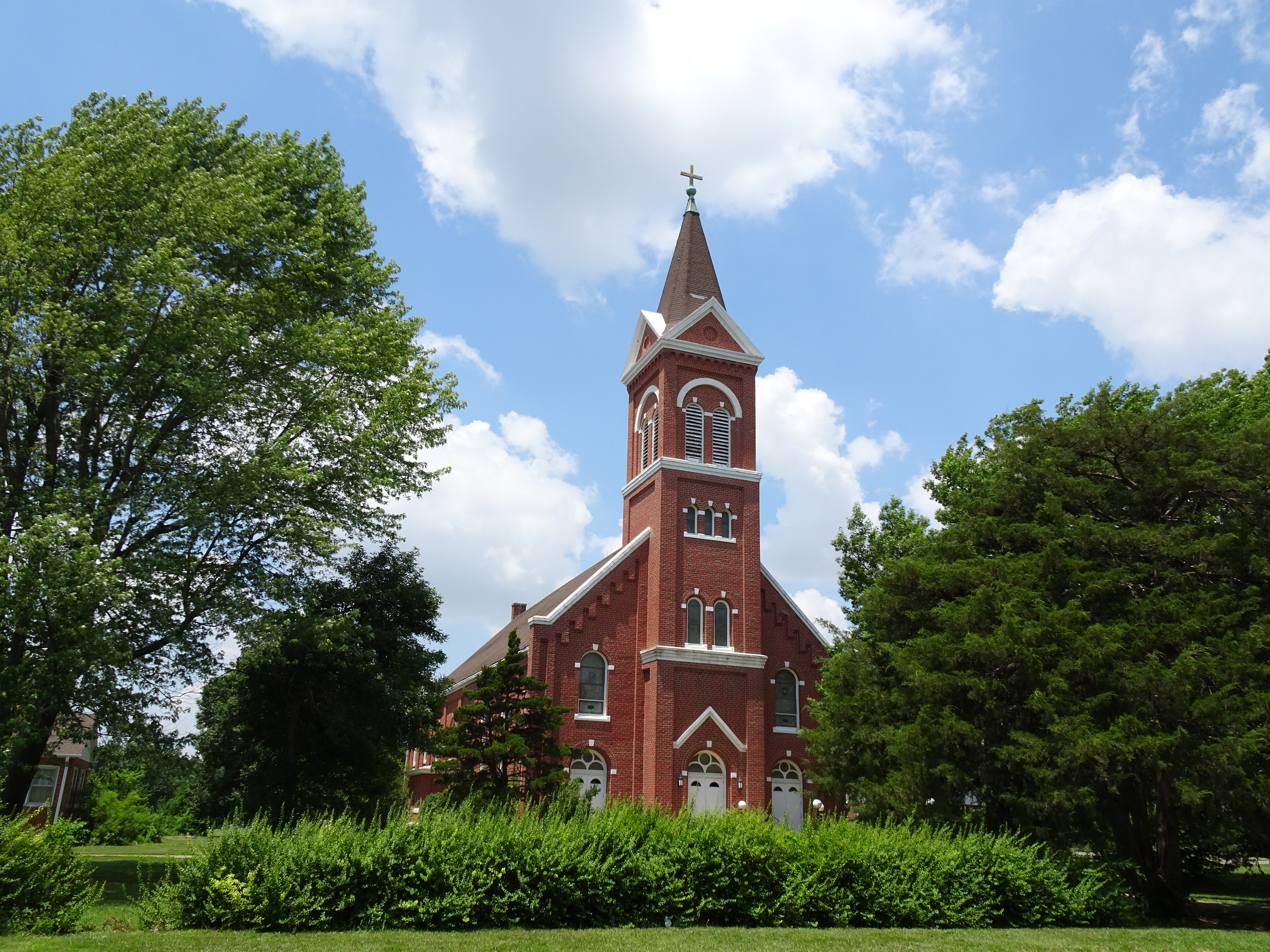 Kansas woodson county piqua - Located West Of Lindsborg Ks Is The Freemount Lutheran Church Built In 1927 To Replace The 1880 Church That Was Destroyed By A Fire Caused By Lightning